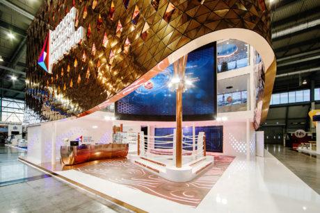 RCC Pavillon an der Innoprom 2017 (Yekaterinburg RU)