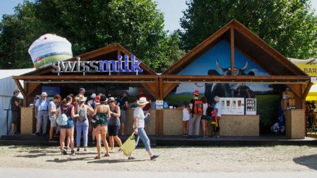 Swissmilk «Festival Milchbar»