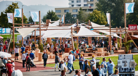 Promostand Zuger Kantonalbank am ESAF 2019